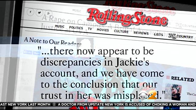 Rolling Stone Rape Charge