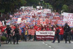 teacher union, seattle