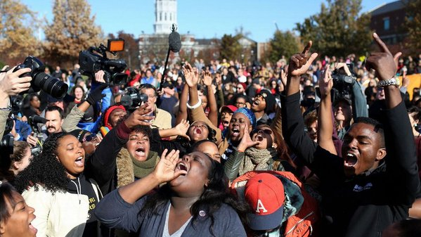 After the protests at the University of Missouri, enrollment dropped by 13 percent.