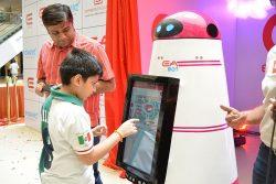 Child and Robot - D. Vignesh