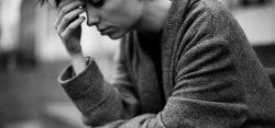 Pensive woman by Eugene Kukulka