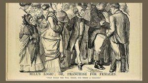 John Stuart Mill: Mill's Logic, 1867, Punch