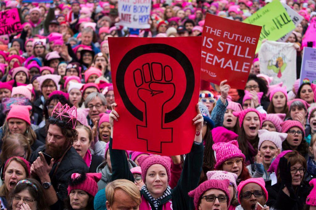 Women's March - March 22, 2018