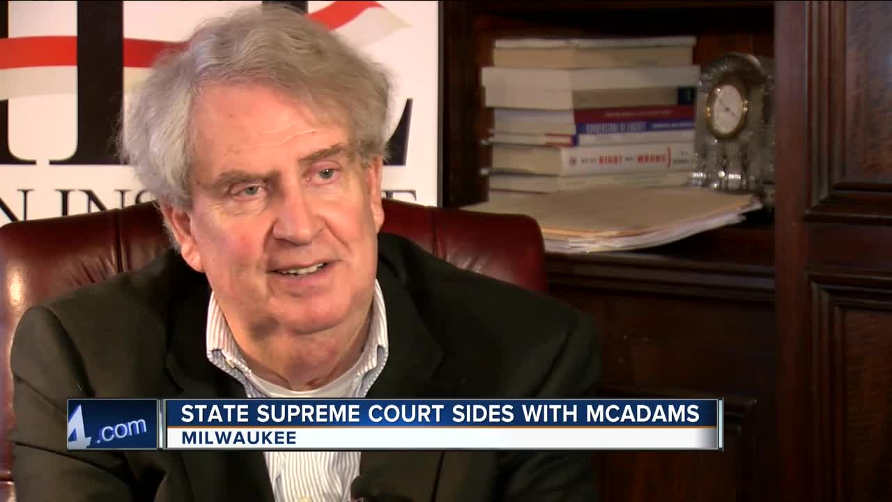 NBC-4 Report - John McAdams Wins