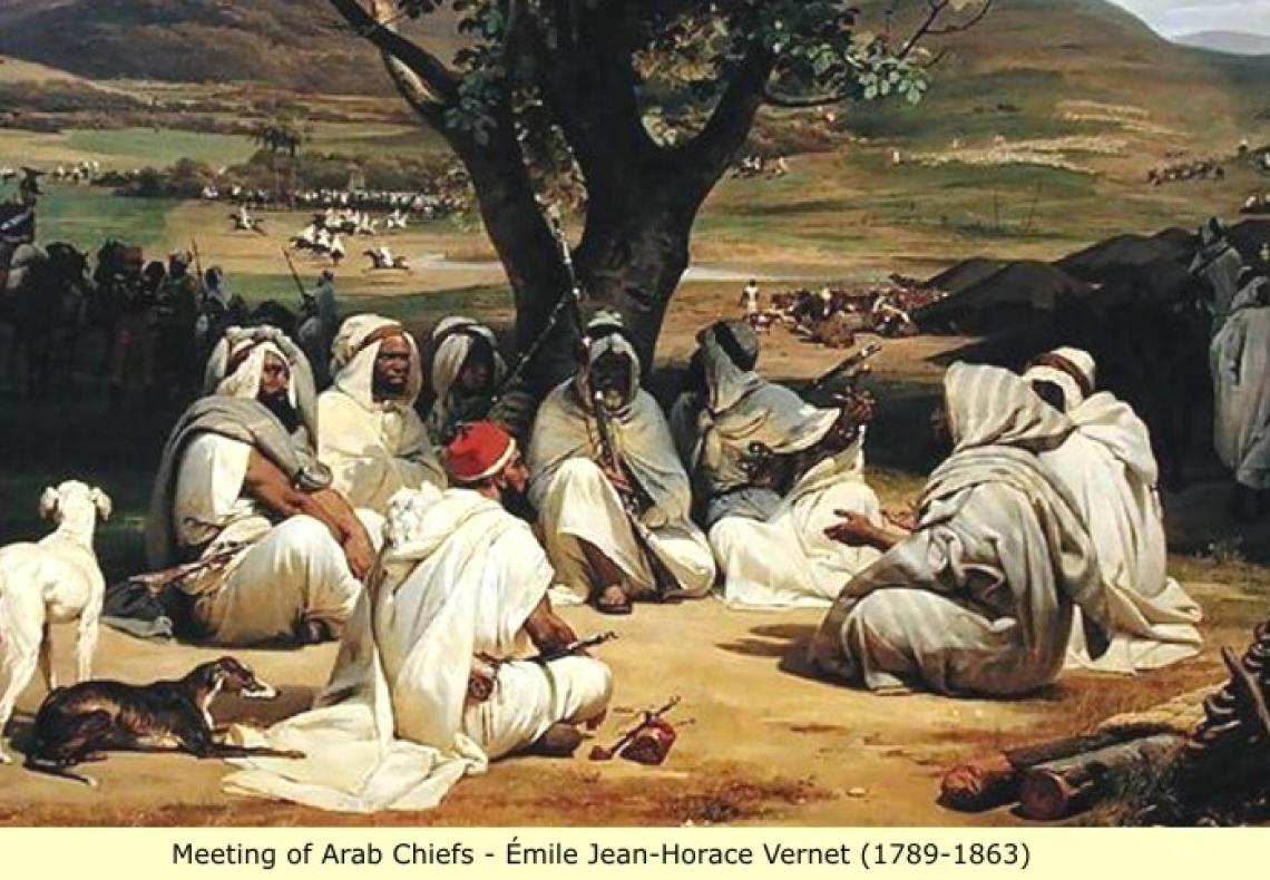 Are All Cultures Equally Good? Arab_chiefs_painting